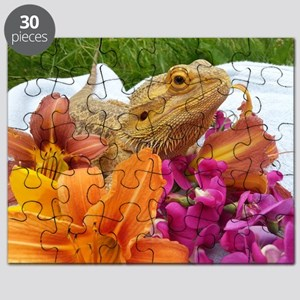 Floral beardie Puzzle