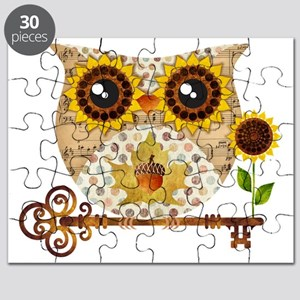Owls Autumn Song Puzzle