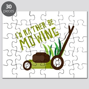 Rather be Mowing Puzzle