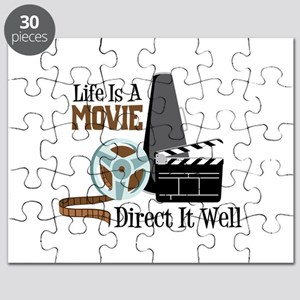 Life is a Movie Direct it Well Puzzle