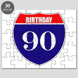 90th Birthday! Puzzle