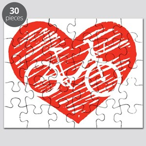 Bicycle Heart Puzzle