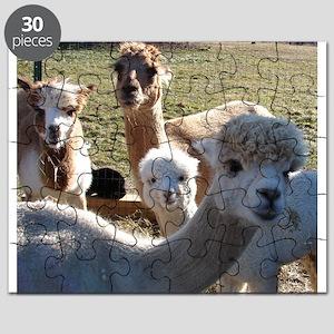 ALPACA FAMILY PORTRAIT™ Puzzle