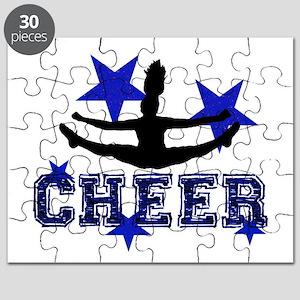 Blue Cheerleader Puzzle