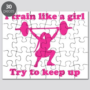 Train Like a Girl Puzzle