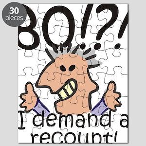 Recount 80th Birthday Puzzle