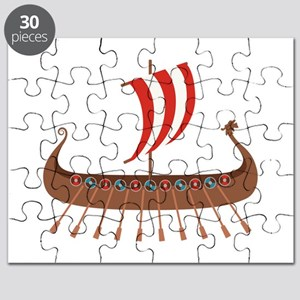 Viking Boat Puzzle