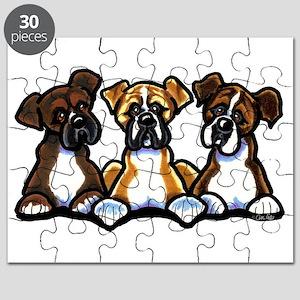 Three Boxer Lover Puzzle