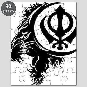 Singh Sikh Symbol 1 Puzzle