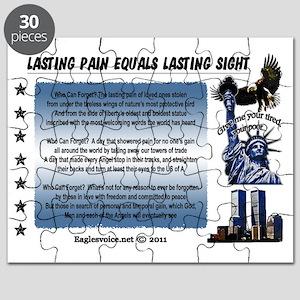 Lasting Sight blue done copy Puzzle