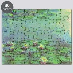Waterlilies by Claude Monet Puzzle