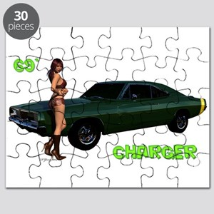 69 Charger Pinup Puzzle