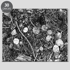 Litter crop for duvet Puzzle
