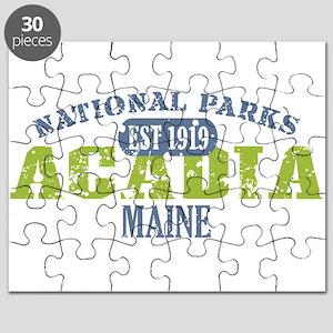 Acadia National Park Maine Puzzle