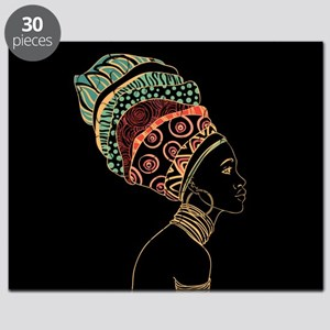 African Woman Puzzle