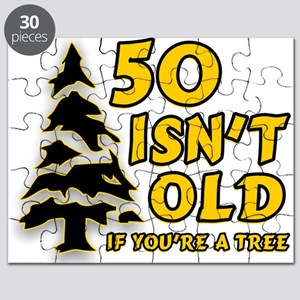 50 Isn't Old, If You're A Tree Puzzle