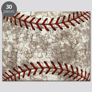 Baseball Vintage Distressed Puzzle