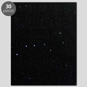 The Plough in Ursa Major, optical image Puzzle