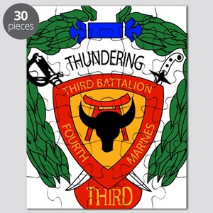 SSI-4TH MARINE RGT-3RD BN Puzzle