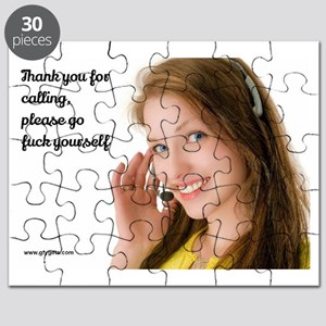GFY Call Center Girl Puzzle