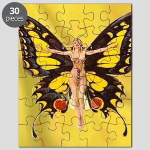 Butterfly Nouveau Puzzle