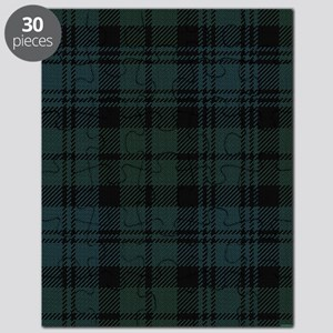 Campbell Scottish Tartan Plaid Puzzle