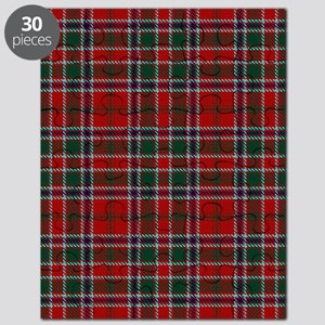 MacDonald Clan Scottish Tartan Puzzle