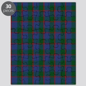 Ferguson Celtic Tartan Plaid Puzzle