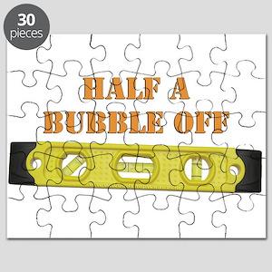 Half A Bubble Off Puzzle
