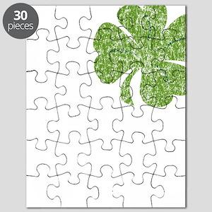 love_shamrock_white Puzzle