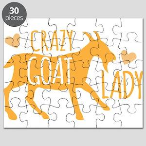 Crazy Goat Lady Puzzle
