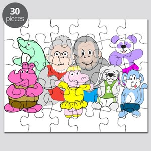 Allie and Friends Puzzle
