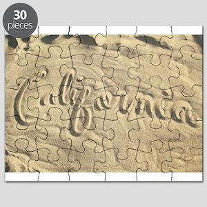 CALIFORNIA SAND Puzzle