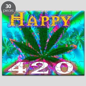 happy 420 Puzzle