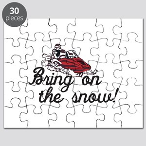 Bring on the Snow Puzzle