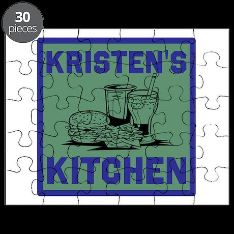 Personalized Kitchen Puzzle