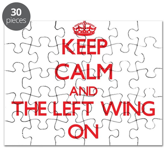 Keep Calm and The Left Wing ON