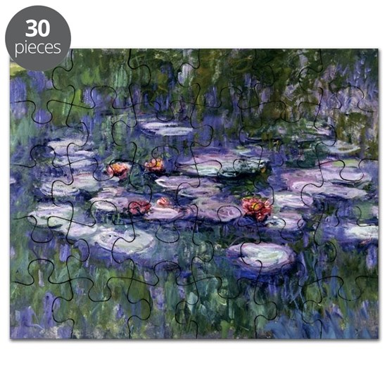 Monet - Water Lilies, Nympheas