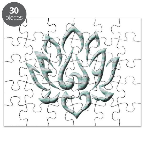Lotus Flower Puzzle By Surgedesigns Cafepress