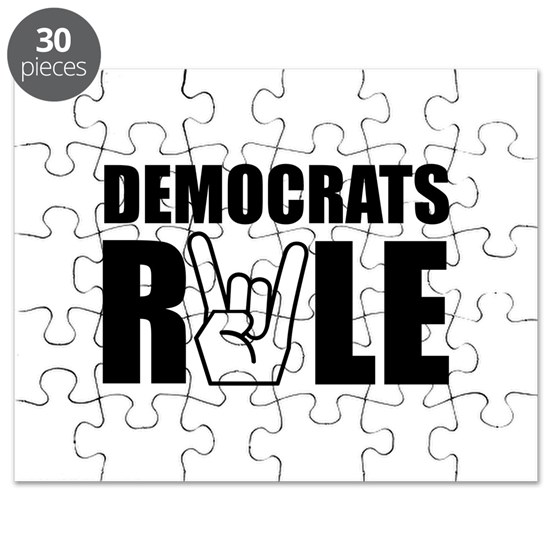 Democrats Rule Black
