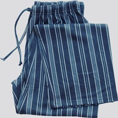 Image of Blue Stripes Pajama Bottom