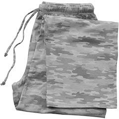 Image of Pajama Bottom Gray Camo