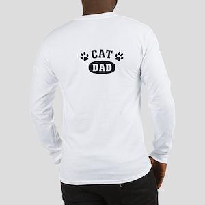 Cat Dad [b/w] Long Sleeve T-Shirt
