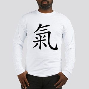 """Chi"" Chinese Calligraphy Long Sleeve T-Shirt"