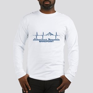 Schweitzer Mountain - Sandpo Long Sleeve T-Shirt