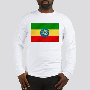 Ethiopian Flag Long Sleeve T-Shirt