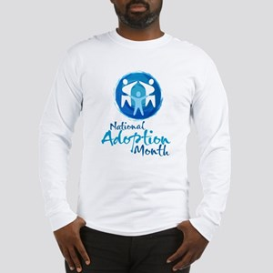 National Adoption Month Long Sleeve T-Shirt