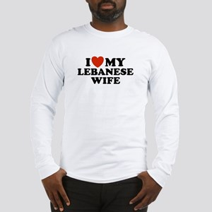 I Love My Lebanese Wife Long Sleeve T-Shirt