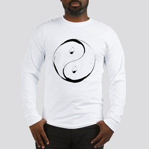 YingyangBrush Long Sleeve T-Shirt
