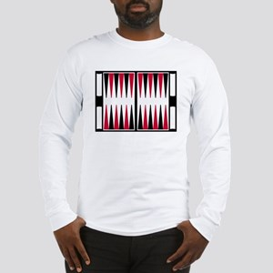 Backgammon board Long Sleeve T-Shirt